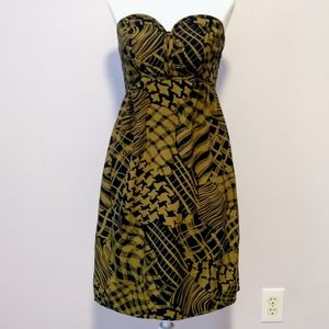 Anthropologie Maple Silken Stitches Silk Dress 2